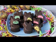 MARSHMALLOW CHOCOLATE BUNNIES HANIELA'S - YouTube