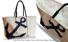 Hunt Yachts supports Rhode Island made products: Handmade Custom Canvas Tote Bags From Recycled Sails