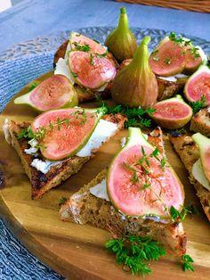 Crostini s čerstvými figami Tuna, Ale, Fish, Meat, Vegetables, Pisces, Ales, Vegetable Recipes, Atlantic Bluefin Tuna