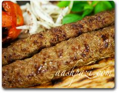 kabab koobideh recipe// Koobideh it's my make it or break it restaurant kebab of choice.  If you can't do this right you're doing it wrong!  I really should try making my own sometime!