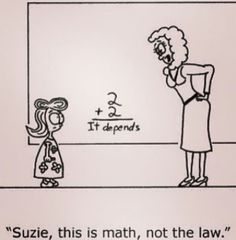"Professor always says when you ask a legal professional a question the answer is always: ""it depends"" I was so much better at Law than I ever was at Math. Lawyer Quotes, Lawyer Humor, In Laws Humor, Legal Humor, Law School Memes, Paralegal, School Life, Lol, This Or That Questions"