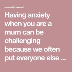 Having anxiety when you are a mum can be challenging because we often put everyone else first, meaning focus on our own wellbeing can be lacking. However, I'd like you to see this blog as a message of hope because my recovery began when I became a mum. Having Eden gave me all the reason…