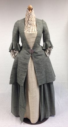 Geillis Duncan in Green Inspired Dress Outlander Cosplay Costume For Carnival Custom Made D0624