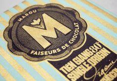 Packaging creativo. Chocolate Marou.