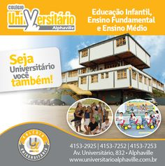 Anúncio revista - Cliente: Colégio Universitário