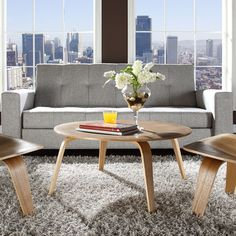 Eames style Molded Plywood Coffee Table from EMFURN