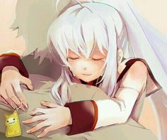 Tsukasa and Isla by yenta on Pixiv All Anime, Manga Anime, Anime Stuff, Plastic Memories, Human Emotions, Science Fiction, Image, Distance, Art