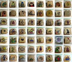 Dad Draws Funny Illustrations on Kids' Sandwhich Bags Every Day Since 2008 | DeMilked
