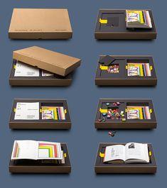 Designer's Brilliant 7 Books-In-One Portfolio Includes A 'Bribe' Of Sweets - DesignTAXI.com