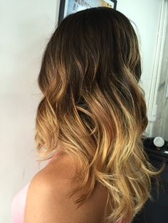 Balayage ombré by The Room