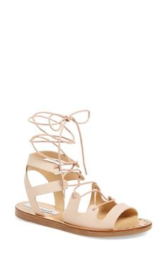399e231244889 Steve Madden  Rella  Ankle Wrap Sandal (Women) available at  Nordstrom Ankle