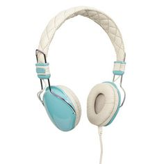 Amplitone Head Phones Turquoise, $25, now featured on Fab.