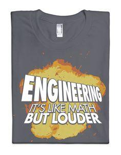 ThinkGeek :: Engineering: It's Like Math but Louder