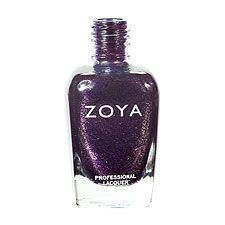 Zoya Nail Polish ZP526  Julieanne  Purple Nail Polish Metallic Nail Polish
