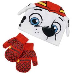 Paw Patrol Marshall Beanie Hat / Mittens - Mercari: Anyone can buy & sell