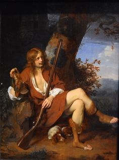 Self-Portrait as a Hunter, 1660-65, Arie de Vois . http://www.forbes.com/sites/tanyamohn/2015/07/30/selfies-from-the-golden-age/#7baabde922d8