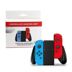 Nintendo Switch JOY-CON Charging Grip Nintendo Switch  Accessories Playstation, Xbox, Nintendo Switch Accessories, Usb Flash Drive, Technology, Phone, Video Game, Group, Charger