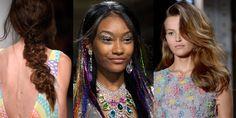 Spring/Summer 2015 hair and makeup trends Makeup Trends, Beauty Trends, Beauty Hacks, Beauty Tips, 2015 Hairstyles, Spring Summer 2015, Big Hair, Catwalk, Makeup Looks