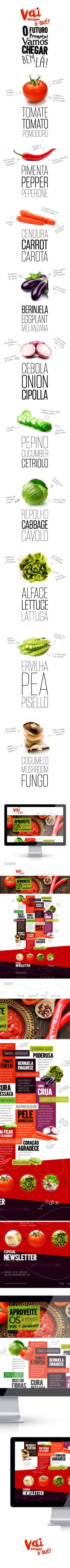 Vai comer oquê? // Hi Friends, look what I have just discovered on #webDesign! Feel free to follow us @moirestudiosjkt to see more excellent pins like this. | If you need help for designing your own website, we love to help you make one.