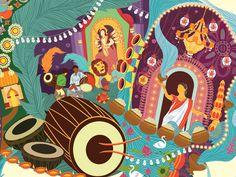 Durga Puja for Rhino on Behance