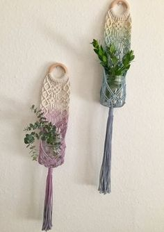 "Macrame plant hanger ""Flower Child"""