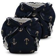 Lil Joey All In One Cloth Diaper (Aio) - 2 Pack Newborn / Preemie - Admiral Ju-Ju-Be