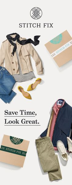 Want your own personal stylist? Stitch Fix is the best online service I've used & I know you'll love it, too. Get handpicked style delivered—shipping's free both ways. Give it a try!