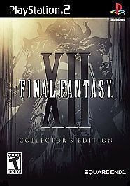 Final Fantasy XII 12 Collector's Edition Steelbook PlayStation 2 PS2 Complete VG