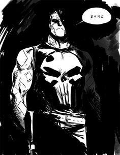 Awesome Art Picks: Batman, Punisher, Deadpool, and More - Comic Vine Punisher Marvel, Punisher Cosplay, Marvel Comics, Hq Marvel, Marvel Comic Universe, Anime Comics, Daredevil, Punisher Costume, Punisher Netflix