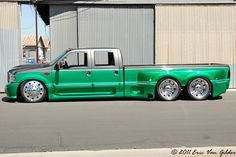 Ford..or Peterbilt, I dont know. I reckon when you have money you can build anything lol
