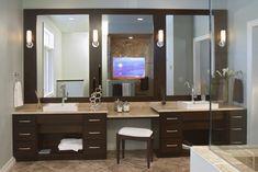 Espresso and Chrome - contemporary - Bathroom - Other Metro - Seura