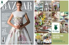 A #dfilipa está na Harper's Bazaar Noiva de junho. Vale a pena passar nas bancas e conferir!
