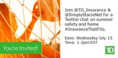 #InsuranceThatFits Twitter Party on 07/15/2015 at 1:00 PM ET - http://thisbirdsday.com/insurancethatfits-twitter-party-on-07152015-at-100-pm-et/ #TwitterParty