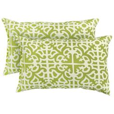 Greendale Home Fashions Rectangle Indoor/Outdoor Accent Pillows, Grass, Set of 2 Greendale Home Fashions,http://www.amazon.com/dp/B007CW0UCM/ref=cm_sw_r_pi_dp_lBPAtb11TQKNWPKC