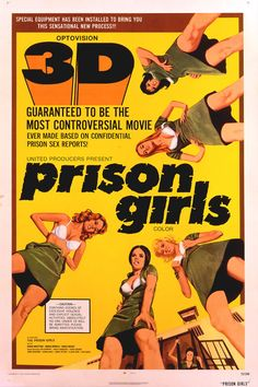 Prison Girls | poster #exploitation