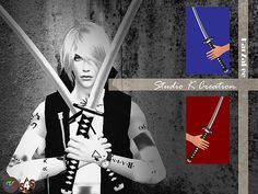 Twin Sword at Studio K-Creation • Sims 4 Updates
