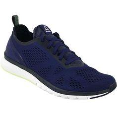 Reebok Print Smooth Clip Ultk Running Shoes - Mens Blue
