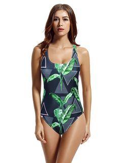468b997d8cdc3 Amazon.com: zeraca Women's Retro Raceback One Piece Swimsuit Bathing Suit  (L14,