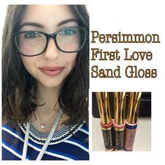Persimmon Sand Gloss **** LipSense all day lip color