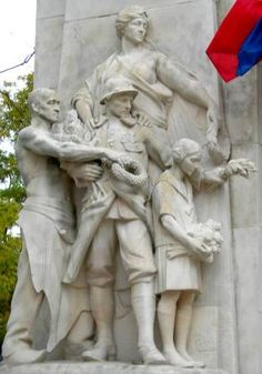 Auguste Carli : Monument aux morts. Nîmes (Gard, France)