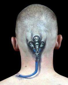 35 Frighteningly Realistic 3D Tattoos
