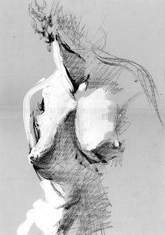 Ästhetische Aktmalerei von Jose Blume Aesthetic nude painting from Jose Blume