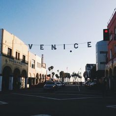 Welcome to Venice Beach, CA.