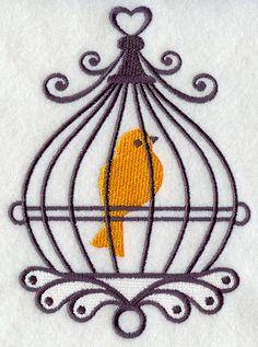 Silhouette Birdcage 5