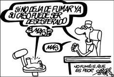 Todos los trabajos tiene su lado humorístisco, el que dibujaba Antonio Fraguas.