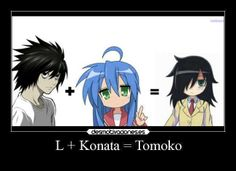 Mother of God...Death Note, Lucky Star & Watamote