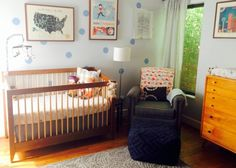 Modern and Worldly Nursery - Project Nursery