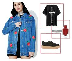 """""""concert"""" by stylebyaren ❤ liked on Polyvore featuring Signature 8 and Puma"""