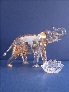Swarovski Jaarstuk de Olifant - glas en kristal | Koopjeskrant.be