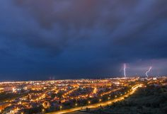 I've Spent 2 Years Photographing Thunderstorms In My Hometown Of Oradea, Romania Art Nouveau Architecture, Thunderstorms, Sunset, City, Amazing, Nature, Photography, Outdoor, Beautiful